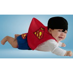 ハロウィンSPECIAL Baby Diaper Cover Superman Costume - Classic Superman