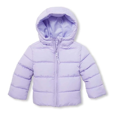 Toddler Girls Hooded Puffer Jacket