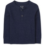 THE CHILDREN'S PLACE/チルドレンズプレイス Thermal Henley トップ