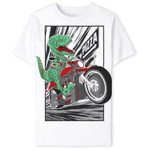 THE CHILDREN'S PLACE/チルドレンズプレイス Dino Biker Graphic Tシャツ