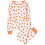 THE CHILDREN'S PLACE/チルドレンズプレイス Mommy And Me Halloween Glow Candycorn Matching Snug Fit Cotton パジャマ