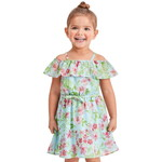 THE CHILDREN'S PLACE/チルドレンズプレイス Mommy And Me Floral Matching Off Shoulder ドレス