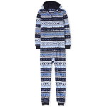 THE CHILDREN'S PLACE/チルドレンズプレイス Adult Matching Family Hanukkah Fairisle Fleece One Piece パジャマ