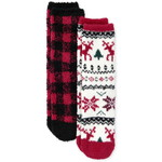 THE CHILDREN'S PLACE/チルドレンズプレイス Kids Buffalo Plaid Cozy ソックス 2-Pack