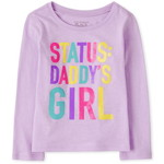 THE CHILDREN'S PLACE/チルドレンズプレイス Daddy's Girl Graphic Tシャツ
