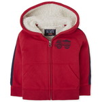 THE CHILDREN'S PLACE/チルドレンズプレイス Truck Sherpa Zip Up フード