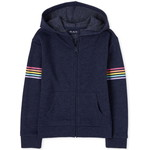 THE CHILDREN'S PLACE/チルドレンズプレイス French Terry Zip Up フーディー
