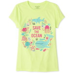 THE CHILDREN'S PLACE/チルドレンズプレイス Save The Ocean Graphic ティ