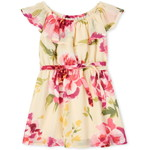 THE CHILDREN'S PLACE/チルドレンズプレイス Mommy And Me Floral Matching Ruffle ドレス