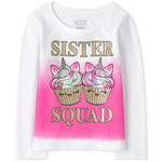 THE CHILDREN'S PLACE/チルドレンズプレイス Sister Squad Graphic Tシャツ