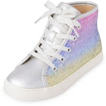 THE CHILDREN'S PLACE/チルドレンズプレイス Girls Rainbow Sequin Hi Top スニーカー