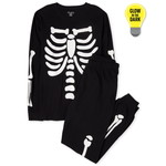 THE CHILDREN'S PLACE/チルドレンズプレイス Adult Matching Family Halloween Glow Candy Skeleton Cotton パジャマ
