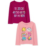 THE CHILDREN'S PLACE/チルドレンズプレイス Shapes And Numbers Graphic Tシャツ 2パック