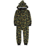 THE CHILDREN'S PLACE/チルドレンズプレイス Matching Family Dino Fleece One Piece パジャマ