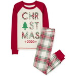 THE CHILDREN'S PLACE/チルドレンズプレイス Matching Family Christmas Tartan Snug Fit Cotton パジャマ