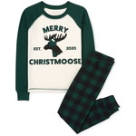 THE CHILDREN'S PLACE/チルドレンズプレイス Matching Family Christmas Moose Snug Fit Cotton パジャマ