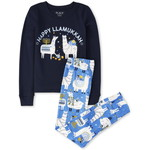 THE CHILDREN'S PLACE/チルドレンズプレイス Matching Family Hanukkah Llama Snug Fit Cotton パジャマ