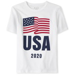 THE CHILDREN'S PLACE/チルドレンズプレイス Matching Family USA Olympics Graphic Tシャツ