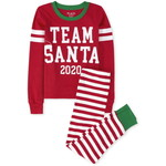 THE CHILDREN'S PLACE/チルドレンズプレイス Matching Family Team Santa Snug Fit Cotton パジャマ