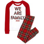 THE CHILDREN'S PLACE/チルドレンズプレイス Matching Family Tartan Snug Fit Cotton パジャマ