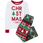 THE CHILDREN'S PLACE/チルドレンズプレイス Matching Family Christmas Fairisle Snug Fit Cotton And Fleece パジャマ