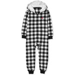 THE CHILDREN'S PLACE/チルドレンズプレイス Matching Family Buffalo Plaid Fleece One Piece パジャマ