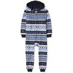 THE CHILDREN'S PLACE/チルドレンズプレイス Matching Family Hanukkah Fairisle Fleece One Piece パジャマ