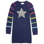 THE CHILDREN'S PLACE/チルドレンズプレイス Flip Sequin Rainbow Star Sweater ドレス