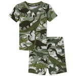 THE CHILDREN'S PLACE/チルドレンズプレイス Dino Camo Snug Fit Cotton パジャマ