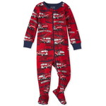 THE CHILDREN'S PLACE/チルドレンズプレイス Fire Truck Snug Fit Cotton One Piece パジャマ