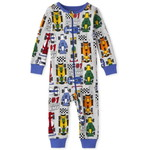 THE CHILDREN'S PLACE/チルドレンズプレイス Race Car Snug Fit Cotton One Piece パジャマ