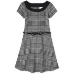 THE CHILDREN'S PLACE/チルドレンズプレイス Houndstooth Fit And Flare ドレス