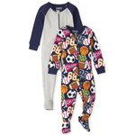 THE CHILDREN'S PLACE/チルドレンズプレイス Sports Snug Fit Cotton One Piece パジャマ 2パック