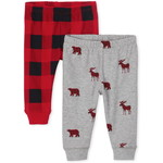 THE CHILDREN'S PLACE/チルドレンズプレイス Buffalo Plaid Pants 2-Pack
