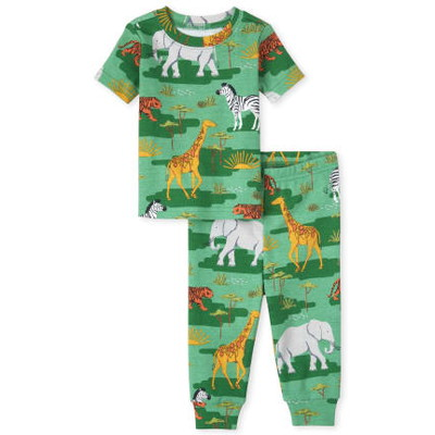 THE CHILDREN'S PLACE/チルドレンズプレイス Camo Animal Snug Fit Cotton パジャマ
