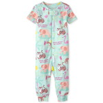 THE CHILDREN'S PLACE/チルドレンズプレイス Animal Snug Fit Cotton One Piece パジャマ