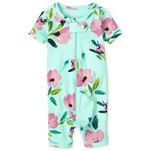THE CHILDREN'S PLACE/チルドレンズプレイス Floral Snug Fit Cotton One Piece パジャマ