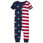 THE CHILDREN'S PLACE/チルドレンズプレイス Americana Snug Fit Cotton One Piece パジャマ
