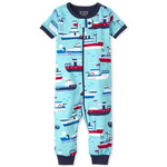 THE CHILDREN'S PLACE/チルドレンズプレイス Boat Snug Fit Cotton One Piece パジャマ