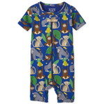 THE CHILDREN'S PLACE/チルドレンズプレイス Monkey Snug Fit Cotton One Piece パジャマ