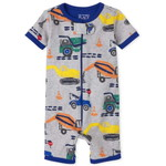 THE CHILDREN'S PLACE/チルドレンズプレイス Construction Snug Fit Cotton One Piece パジャマ
