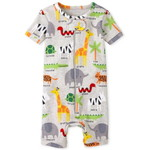 THE CHILDREN'S PLACE/チルドレンズプレイス Safari Snug Fit Cotton One Piece パジャマ