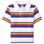 THE CHILDREN'S PLACE/チルドレンズプレイス Striped Jersey Polo