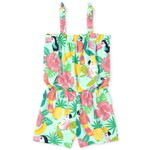 THE CHILDREN'S PLACE/チルドレンズプレイス Tropical Tie Shoulder Romper