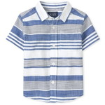 THE CHILDREN'S PLACE/チルドレンズプレイス Dad And Me Striped Chambray Button Downシャツ