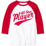 THE CHILDREN'S PLACE/チルドレンズプレイス Matching Family Player グラフィック Tシャツ