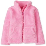THE CHILDREN'S PLACE/チルドレンズプレイス Sherpa Zip Up Mock Neck Jacket