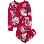 THE CHILDREN'S PLACE/チルドレンズプレイス Girls Mommy And Me Floral Velour Matching パジャマ