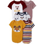 THE CHILDREN'S PLACE/チルドレンズプレイス Tiger Bodysuit 5-Pack