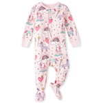 THE CHILDREN'S PLACE/チルドレンズプレイス Unicorn Castle Snug Fit Cotton One Piece パジャマ